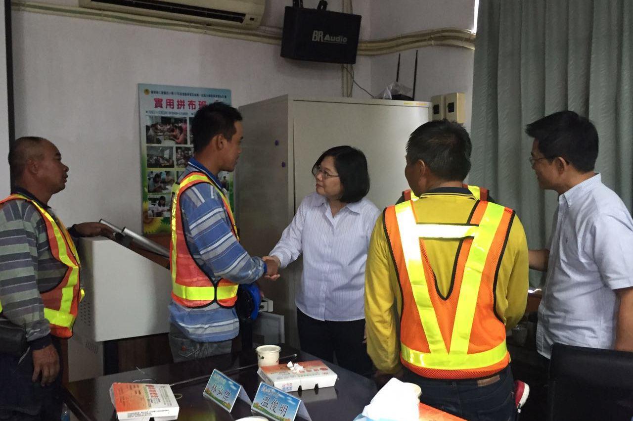 2016年台東風災救援